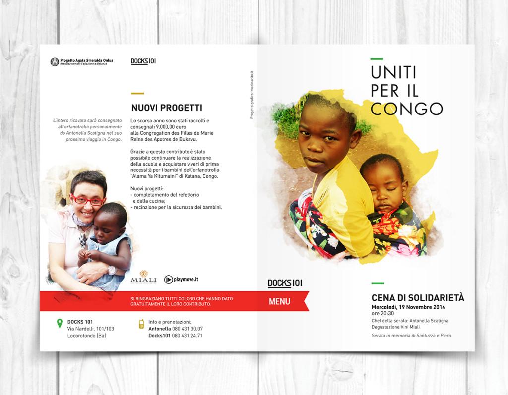 uniti per il congo menu2014_fronte
