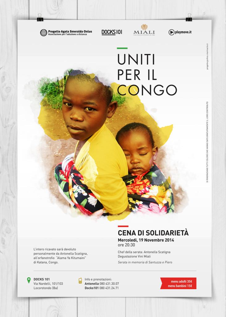 uniti per il congo2014